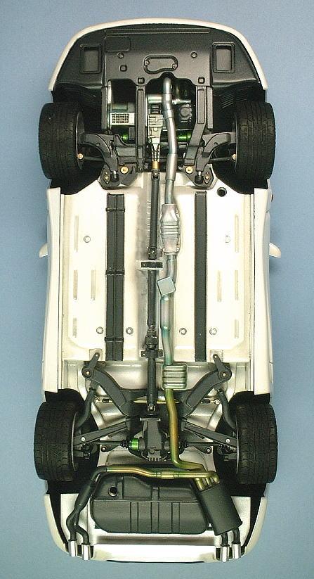 1 24 Scale Mitsubishi Gto Mitsubish 3000gt Glass Top