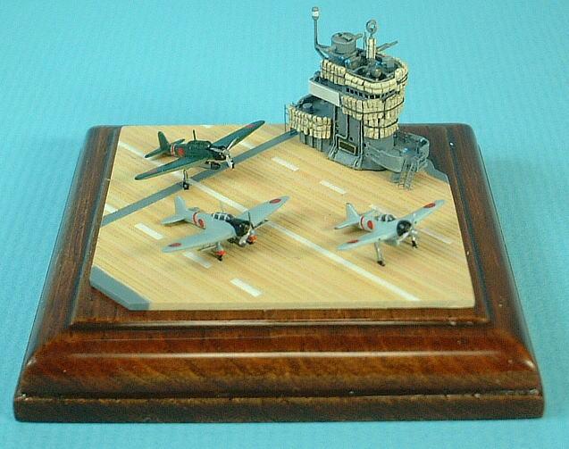 1/700 scale diorama model